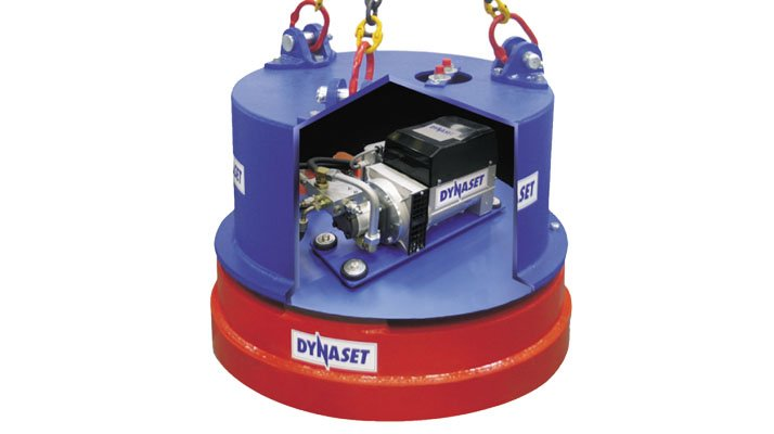 aimant hydraulique pour recyclage dynaset