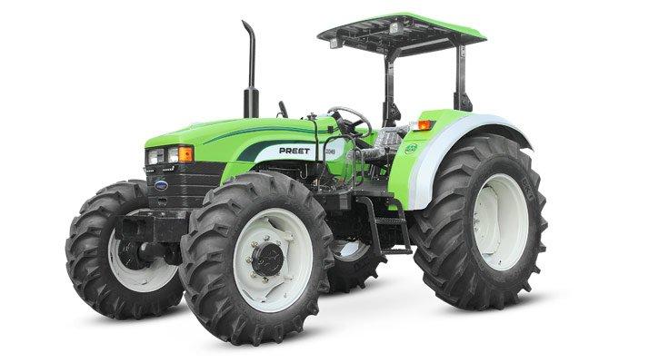 tracteur agricole preet