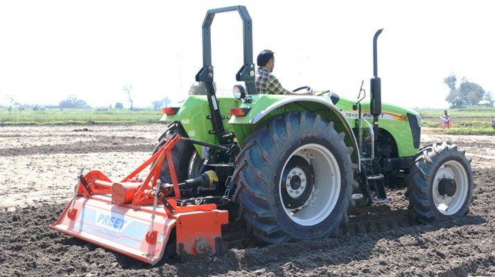 tracteur pour travaux agricoles preet