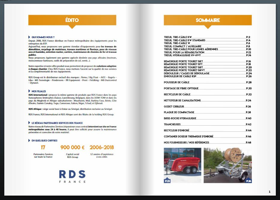 catalogue reseaux vrd rds france