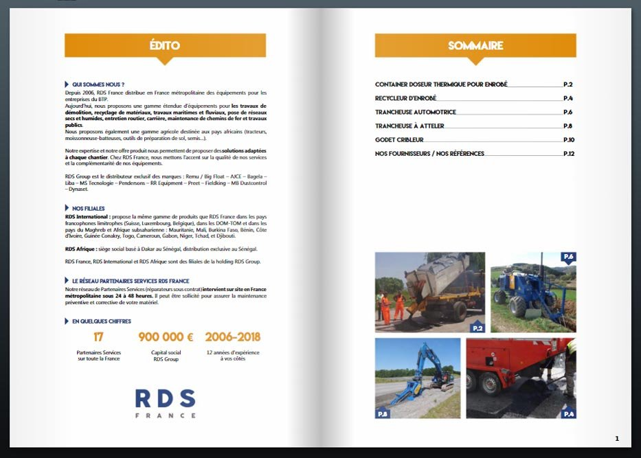 catalogue travaux routiers rds france