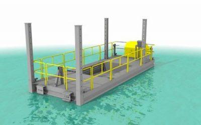 Barge de stockage
