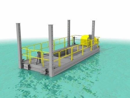 Barge stockage CDO INNOV - RDS France, spécialiste du matériel TP