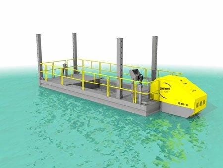 Barge Transport Travail CDO INNOV - RDS France, spécialiste du matériel TP