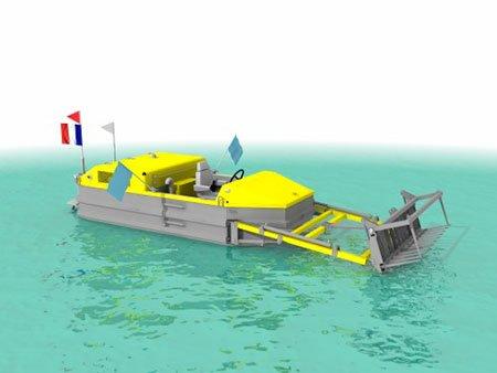 Bateau Pousseur CDO INNOV - RDS France, spécialiste du matériel TP