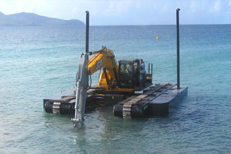 Pelle amphibie Big Float E22 mer