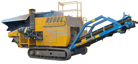 Concasseur crible rebel mobile RR equipment - RDS France, spécialiste du matériel TP