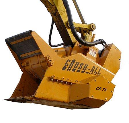Godet concasseur crushall RR equipment - RDS France, spécialiste du matériel TP