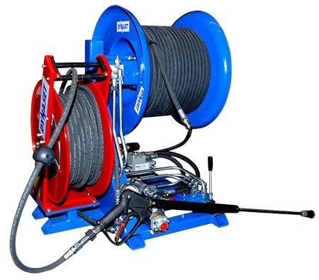 Nettoyeur canalisation hydrocureur dynaset - RDS France, spécialiste du matériel TP