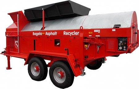 Recycleur d'enrobe Bagela - RDS France, spécialiste du matériel TP