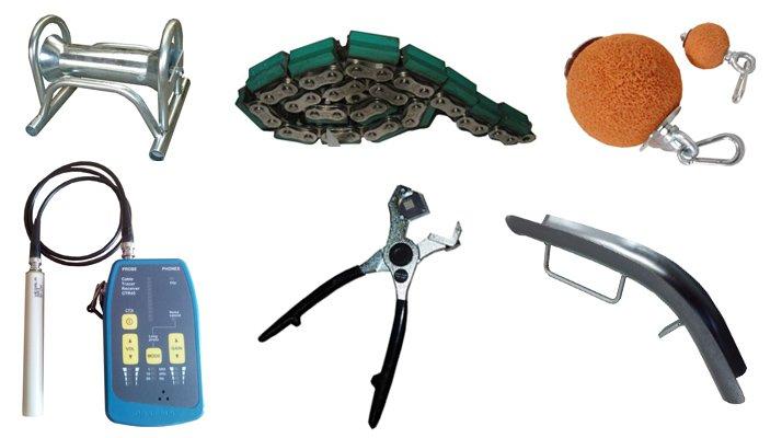 Accessoires outils réseaux câbles tuyaux Bagela - RDS France, spécialiste du matériel TP