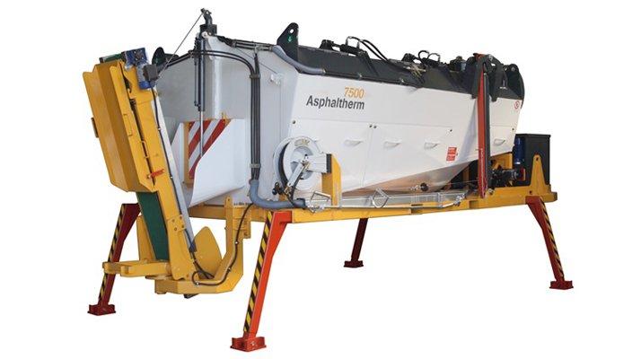 asphaltherm container pour enrobé - RDS France, spécialiste du matériel TP