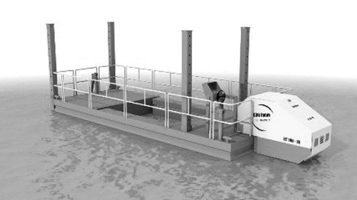 Barge stockage motorisée CDO INNOV - RDS France, spécialiste du matériel TP