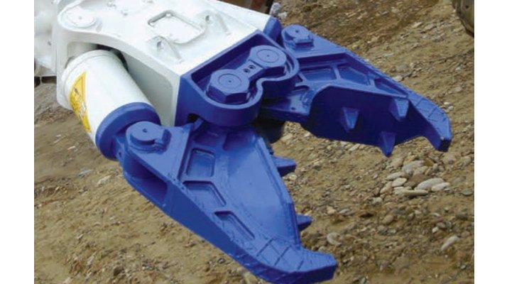 Broyeur AJCE machoire croc béton - RDS France, spécialiste du matériel TP