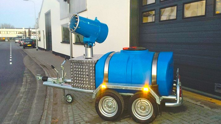 canon a eau autonome MB DUSTCONTROL pour brumisation - RDS France, spécialiste du matériel TP