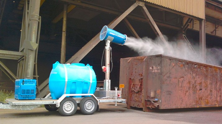 canon a eau sur mat pour brumisation - RDS France, spécialiste du matériel TP