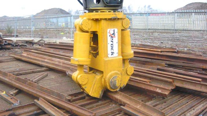couper des rails avec un casse rail Pendersons - RDS France, spécialiste du matériel TP