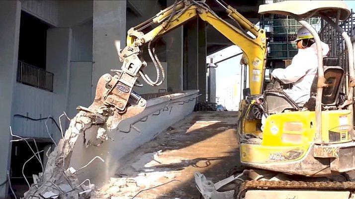 Cisaille combi AJCE démolition - RDS France, spécialiste du matériel TP