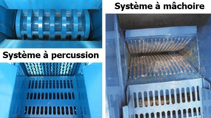 concassage cribleur système à machoire ou percussion rebel - RDS France, spécialiste du matériel TP