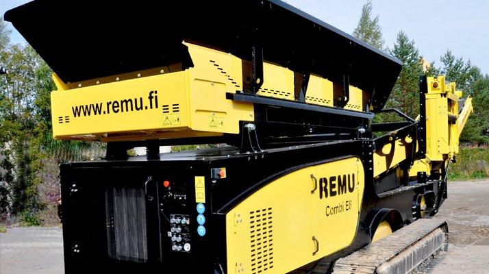 Crible mobile REMU E8 - RDS France, spécialiste du matériel TP