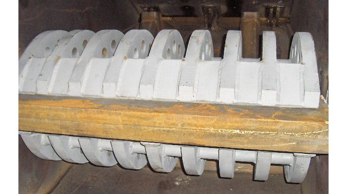 Godet concasseur Crush-all, rotor - RDS France, spécialiste du matériel TP