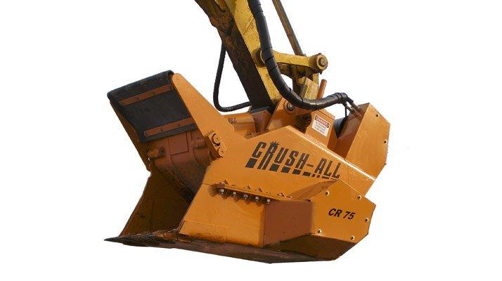Godet concasseur Crush-all - RDS France, spécialiste du matériel TP