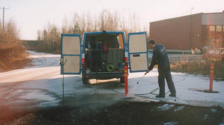 Nettoyeur haute pression hydrocureur Dynaset, lance - RDS France, spécialiste du matériel TP