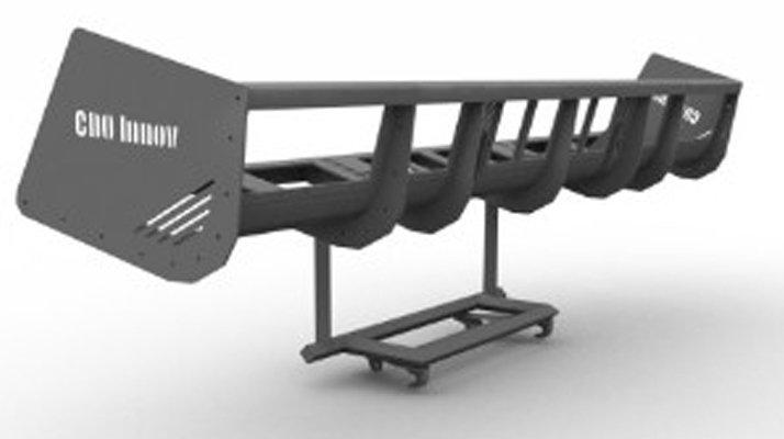Panier récolteur bateau porte outils CDO INNOV - RDS France, spécialiste du matériel TP