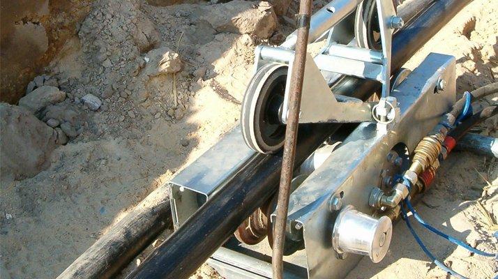 Pousseur câble Bagela tranchée - RDS France, spécialiste du matériel TP