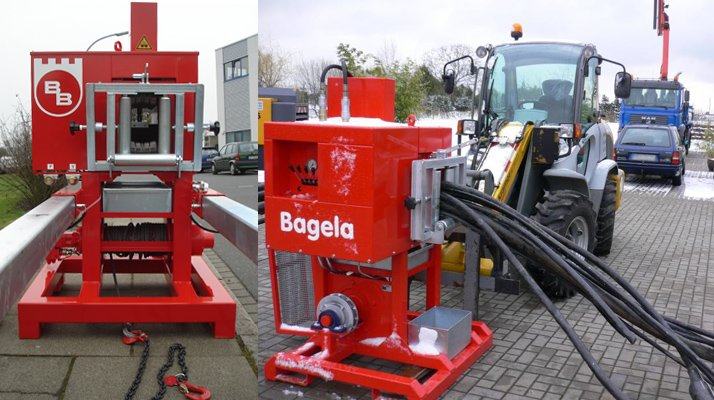 Recycleur coupe-câble CPC Bagela - RDS France, spécialiste du matériel TP
