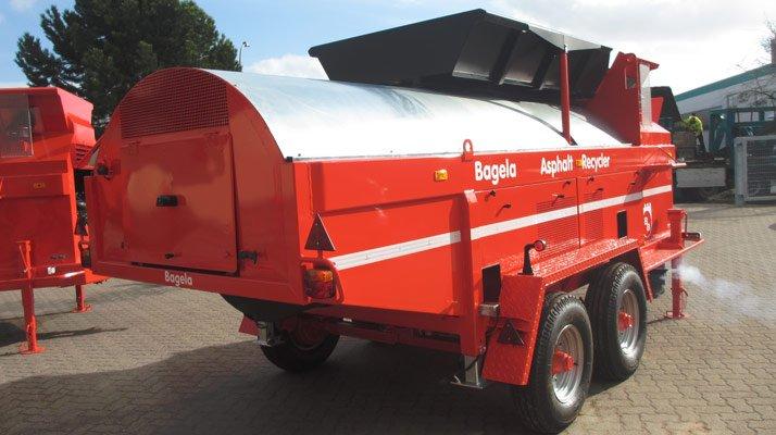 recycleur d'enrobé bagela - RDS France, spécialiste du matériel TP