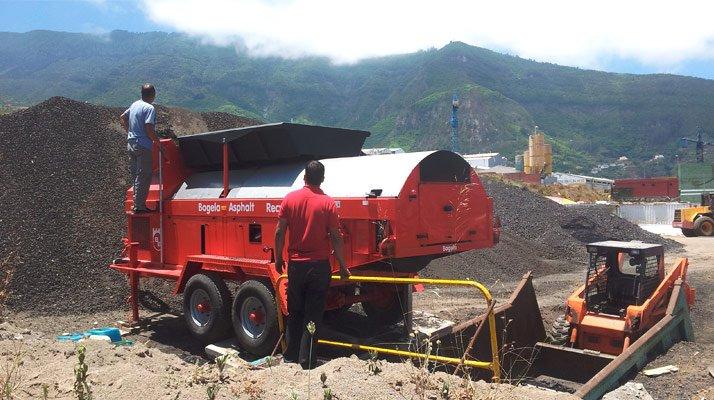 recyclage de l'enrobé asphalte avec bagela - RDS France, spécialiste du matériel TP