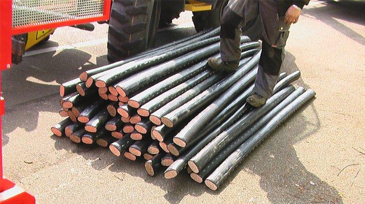 Recycleur extracteur cable gros diamètre Bagela - RDS France, spécialiste du matériel TP