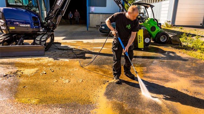 Suppression poussière Dynaset, lance nettoyage - RDS France, spécialiste du matériel TP