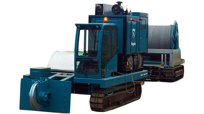 Treuil Bagela Réhabilitation canalisations RW100 - RDS France, spécialiste du matériel TP