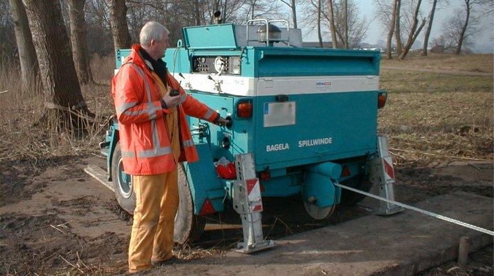treuil pour la rehabilitation de canalisation RW20 - RDS France, spécialiste du matériel TP