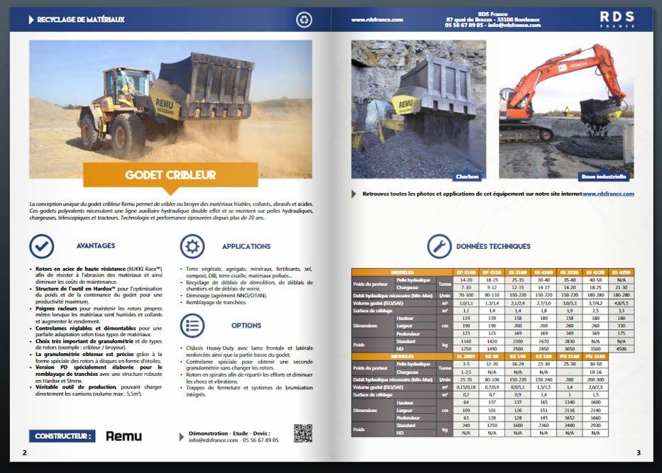 Catalogue recyclage - RDS France, spécialiste du matériel TP