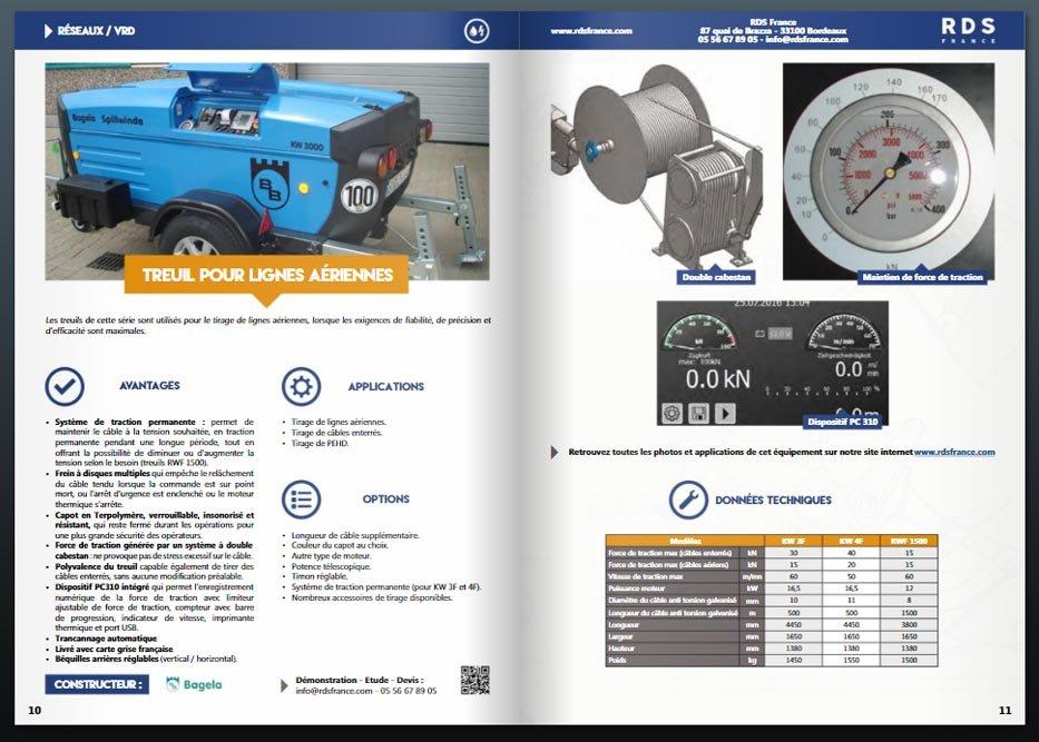 Catalogue reseaux vrd rds france - RDS France, spécialiste du matériel TP