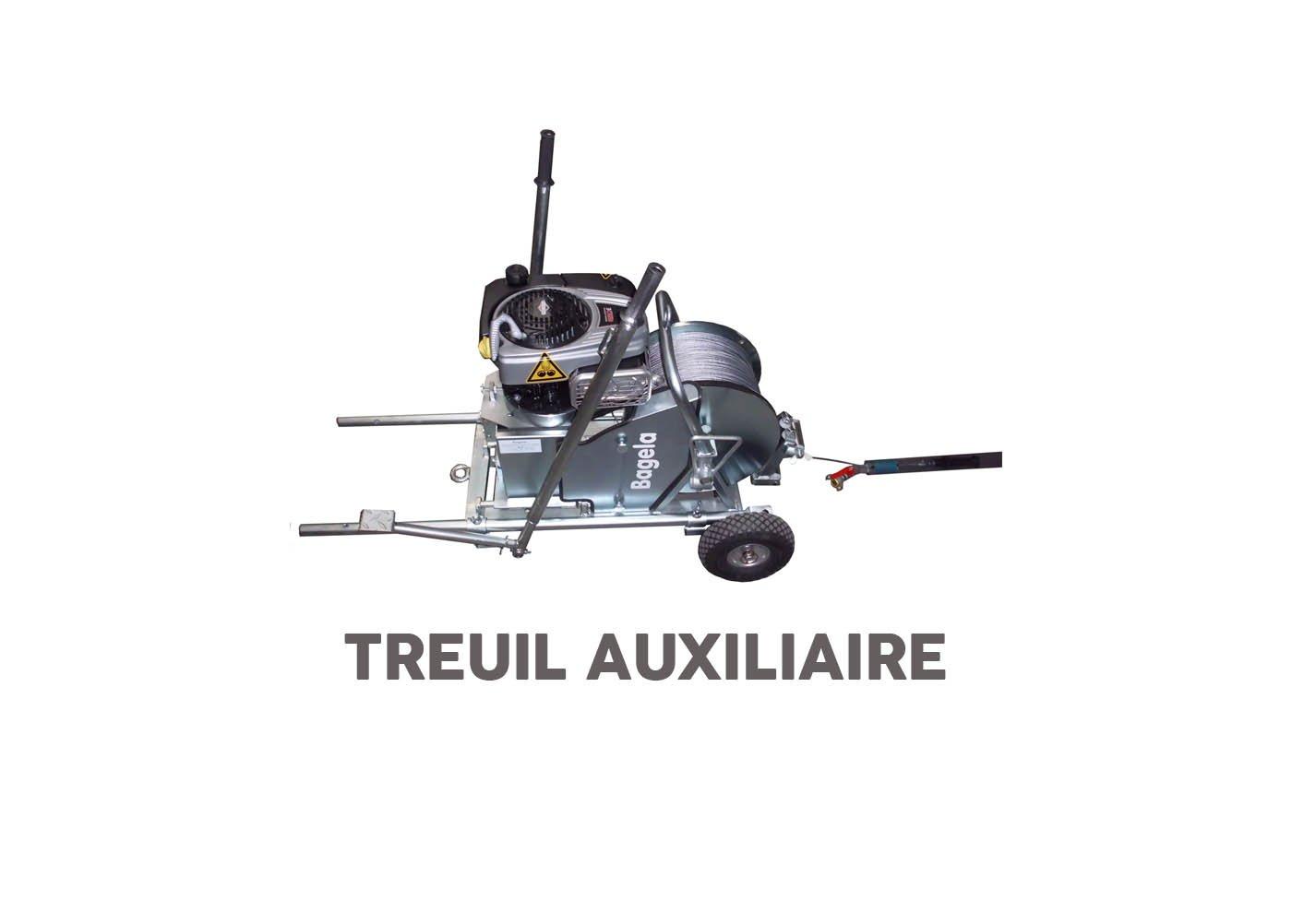 Treuil pour aiguillage treuil auxiliaire bagela - RDS France, spécialiste du matériel TP
