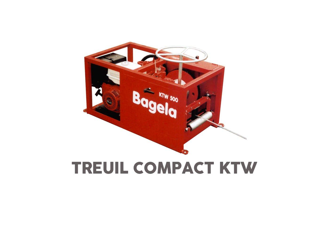 Treuil compact bagela ktw - RDS France, spécialiste du matériel TP
