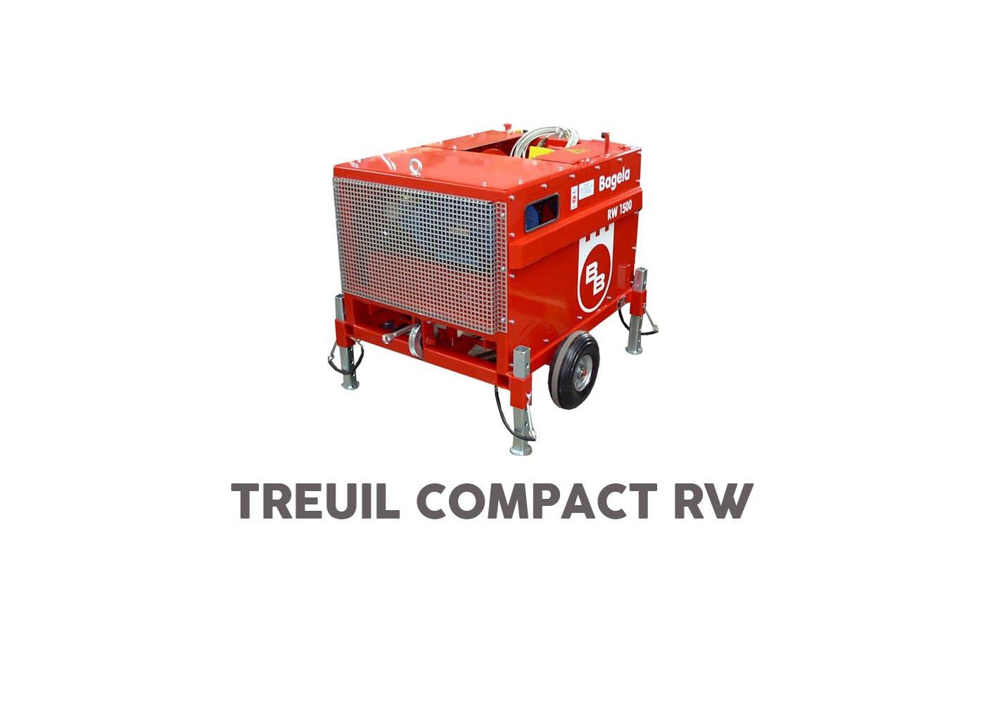 Treuil compact bagela rw - RDS France, spécialiste du matériel TP