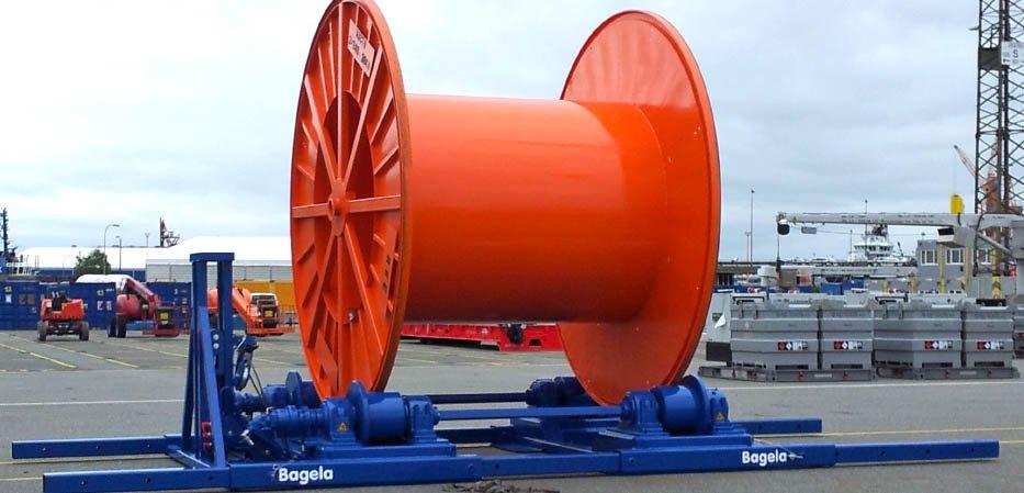 enrouleur-derouleur de câble Bagela KSP 80
