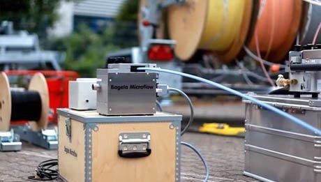 Equipements pour la pose de fibre optique Bagela