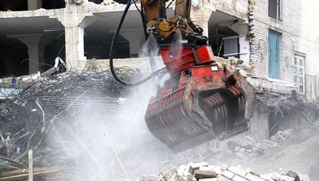 Brumisation embarquée pour l'abattage de poussières sur chantier