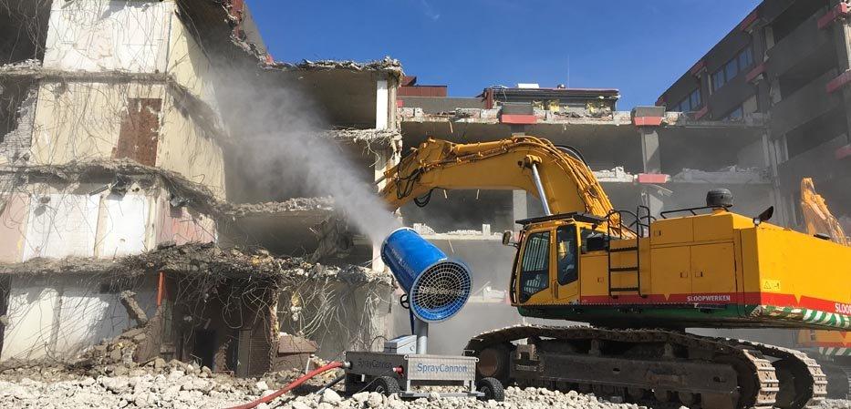 Brumisateur de chantier démolition