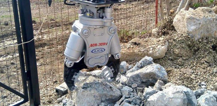 Mini broyeur béton hydraulique AJCE