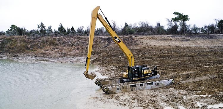 Pelle amphibie REMU Big Float E22 Texas