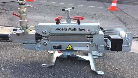 Multiflow : portage soufflage de fibre optique - RDS France