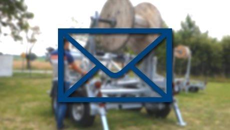 Remorque dérouleuse de touret Bagela BKT60 - Newsletter Juin 2019