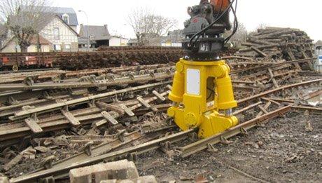 casse rail pendersons cisaille coupe rails vidéo